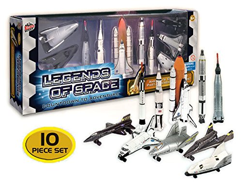 Legends of Space : Countdown to Adventure - History of American Space Flight, 10 piece set