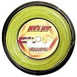 Pro Tenis Cordaje Hexaspin Twist 1,25mm de 200m Lime