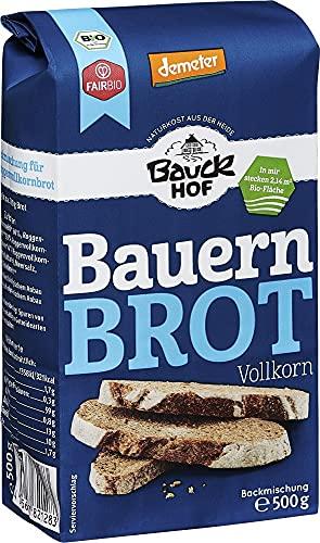 Bauckhof Bio Bauck Demeter Bauernbrot (6 x 500 gr)