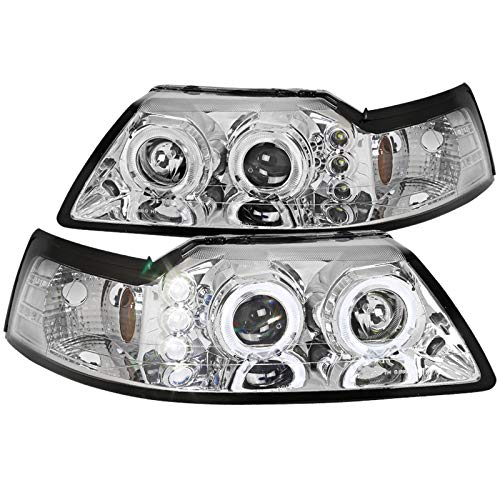 03 mustang halo headlights - 2