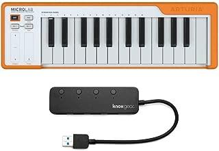 Arturia Microlab DAW Controller (Orange) (2 Items)
