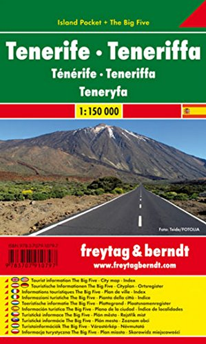 Teneriffa: Island Pocket + The Big Five - Maßstab 1:150.000