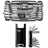 CRANKBROTHERs Crank Brothers F-15 Tool and M19 Bicycle Multi Tool: The Smart Cyclist's Pocket Maintenance Kit