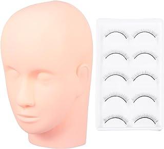 Minkissy praktijk opleiding hoofd voor wimpers extensions Lash Mannequin hoofd cosmetica mannequin pop hoofd wimpers verle...
