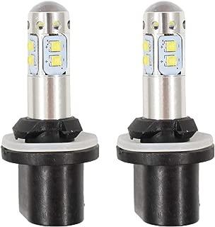 LABLT 2 PCS 880 6000K White 50W LED Headlight Lamp for Arctic CAT 250 300 400 500 650