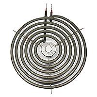 ゼネラル・エレクトリック JBP48WA2 8インチ 6ターンサーフェスバーナーエレメント - レンジストーブ&クックトップ用General Electric WB30M2加熱エレメントと互換性あり