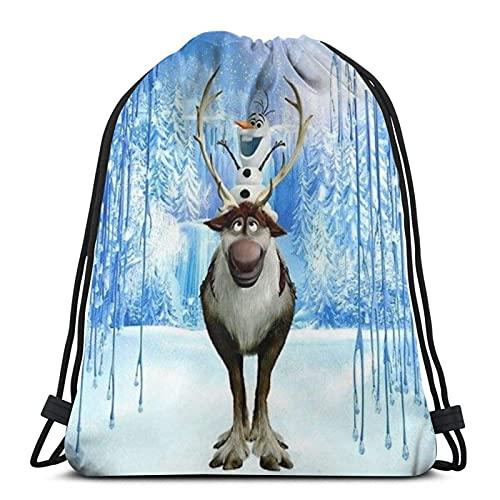 Bolsa de Deporte Gym Sack Frozen 6 Mochila con cordón Ajustable Cinch Pack