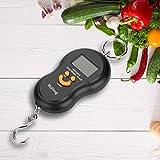 VGEBY1 Báscula Digital eléctrica, Pantalla LCD portátil, báscula Colgante...