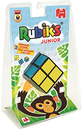 Jumbo 3985 - Rubiks Junior, Geschicklichkeitsspiel, farbig