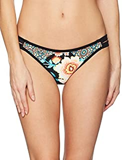 Body Glove Junior's Ambrosia Surf Rider Bikini Bottom Black XL [並行輸入品]