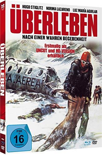 Überleben - Uncut limited Mediabook-Edition (Blu-ray+DVD plus Booklet/digital remastered)