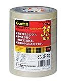 ジャパン スコッチ透明粘着テープ500 12mmx35巻 500-3-1235-10P 1セット(50巻:10巻×5パック)