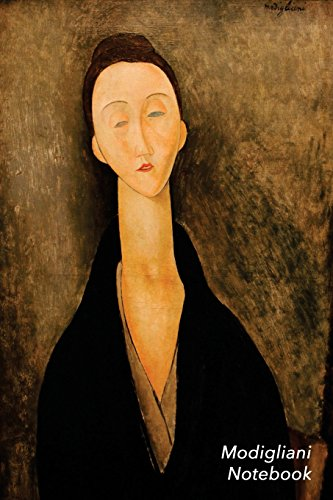 Modigliani Notebook: Lunia Czechowska Journal | 100-Page Beautiful Lined Art Notebook | 6 X 9 Artsy Journal Notebook (Art Masterpieces) [Idioma Inglés]