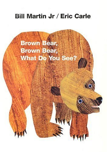 Brown Bear Brown Bear What Do You See? Board Book with DVD in ASL