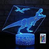 Hyodream Dinosaur Lamp,Dinosaur Night Light Kids Night Light,16 Colors...