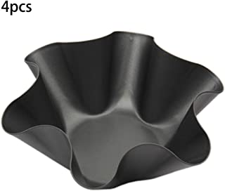 Best Quality Quqlity Non Stick Fluted Tortilla Shell Pans Taco Salad Bowl Makers, Large Non Stick - Set Large Bowls, S Flute, Fluted Bowl, Mold In Other Cookware