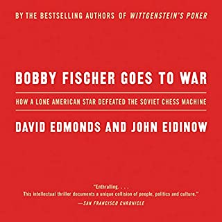 Bobby Fischer Goes to War audiobook cover art