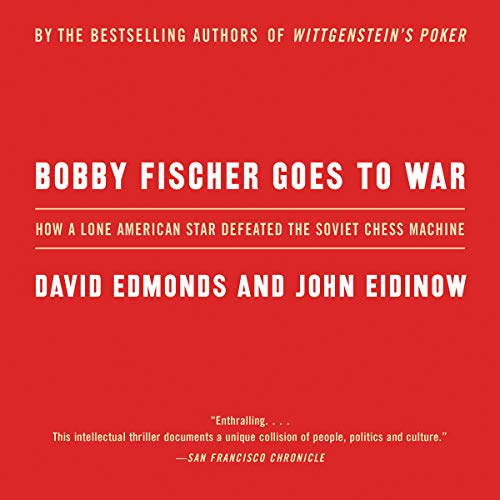 Bobby Fischer Goes to War audiobook cover art