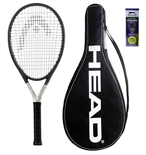 HEAD Ti S6 - Raqueta de tenis L3 + 3 pelotas de...
