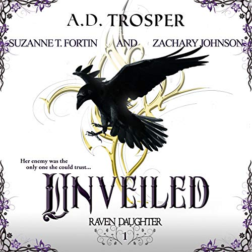 Unveiled Audiobook By A.D. Trosper cover art