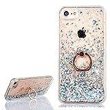 Yobby Coque iPhone 6 Plus,Coque iPhone 6S Plus Fine Glitter Sables Mouvants Bling Paillettes Etui...