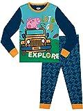 Peppa Pig Boys George Pig Pajamas Blue Size 4