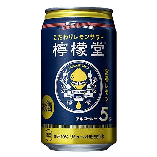 檸檬堂 定番レモン 缶 [ チューハイ 350ml×24本 ]