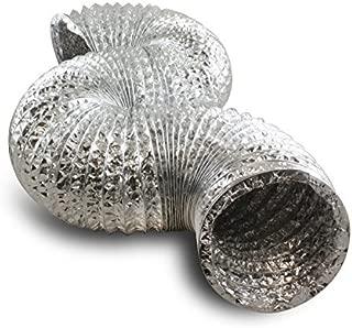 RecoverLOVE Tubo Flexible de Aluminio de 6M Tubo de Escape retr/áctil de Aluminio de Manguera retr/áctil Tubo de ventilaci/ón de Tubo de ventilaci/ón de una Sola Capa Tubo de ventilaci/ón