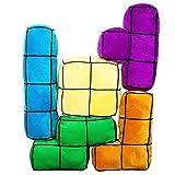 getDigital Arcade Block Kissen 5er Set | 5 große, bunte und flauschige 3D...