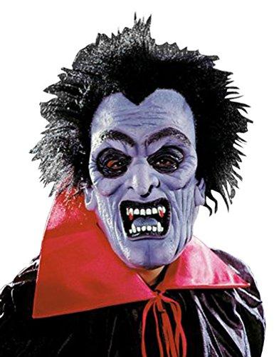 Karneval-Klamotten Dracula Gesichts-Bedeckung Vampir Gesichts-Bedeckung Vampir Dracula Zubehör Halloween Karneval