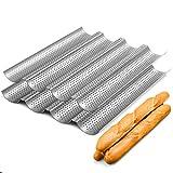 2 Pack Nonstick Perforated Baguette Pan 15