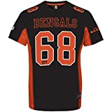 Majestic NFL CINCINNATI BENGALS Moro Mesh Jersey T-Shirt, Größe:XL