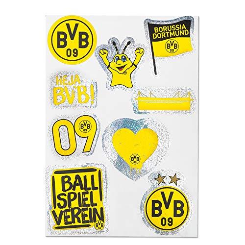 Borussia Dortmund BVB-Aufkleberkarte glitzernd
