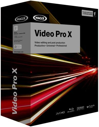 Magix Video Pro X (PC DVD)