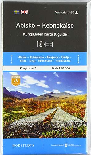 Abisko Kebnekaise Kungsleden 1 1:50 000: Kungsleden Map & Guide
