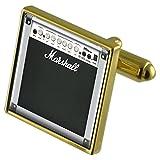 Amplificador de guitarra de tono Oro gemelos Crystal Gift Set Clip de corbata