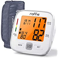 Roffie Upper Arm Blood Pressure Machine for Home Use