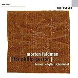 Morton Feldman: For Philip Guston (Flöte, Schlagzeug und Klavier)