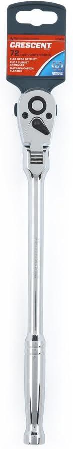 <strong>Crescent Tools 3/8-inch Drive Flex Head Teardrop Ratchet CRW10</strong>
