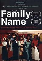 Family Name [DVD] [Import]