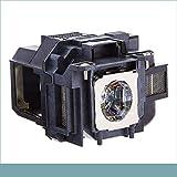 LOUTOC Bombilla de Repuesto para proyector Epson ELPLP78 / V13H010L78 EB-S03 EH-TW5100 EH-TW5200 EH-TW570 EB-W12 EB X20 EB-W28, con Carcasa