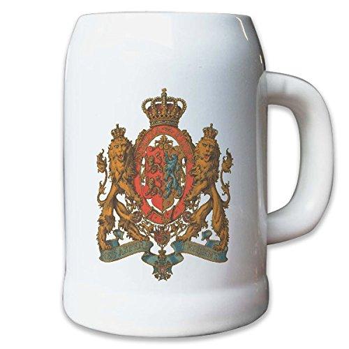 Krug/Bierkrug 0,5l Herzogtum Braunschweig kleines Herzog Adel Weimarer #9442 K
