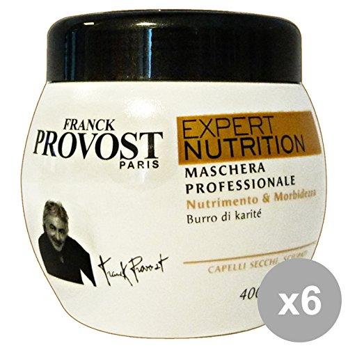 Set 6 Provost Masque Pot Nutrition secs 400 ml. Produits pour cheveux
