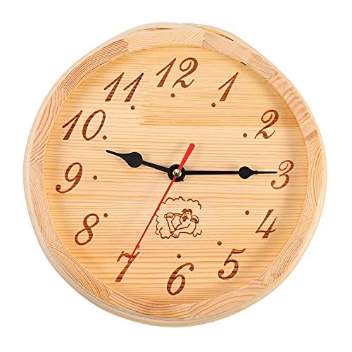 Artibetter 1 Pieza Reloj de Sauna de Madera Reloj de Reloj de de Madera Reloj Temporizador para Sala de Sauna Accesorios de Sauna