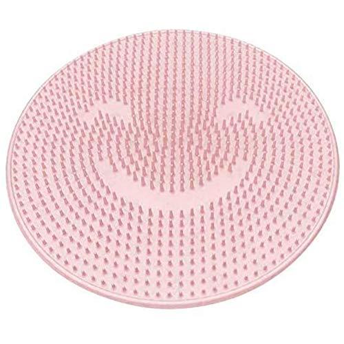 Bath Foot Washer Siliconen Badkuip Massagekussenborstel Met Zuignap Antislipmat Circulatie Verbeteren, Afschilfering, Voet Badkamerbenodigdheden,Pink