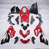 FATExpress Injection Fairing Kits for Kawasaki Z900 2017 2018 2019 Motorcycle Aftermarket Painted Complete Frame Parts Bodywork Body Kit Z 900 Z900 SE Accessories 18 Pieces/Set (No. 005)