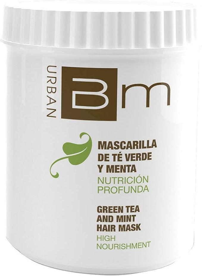 Blumin Mascarilla de Pelo/Mascarilla para el Cabello de Té Verde y Menta Ultranutritiva y Duradera, 700 ml