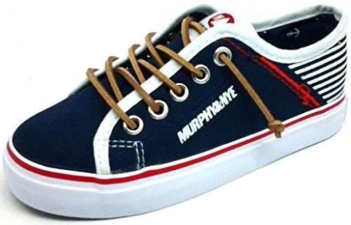 MURPHY&NYE Sneakers, Scarpe Unisex Tela MOD. S17-SMN041 Blu 31/38 (33)