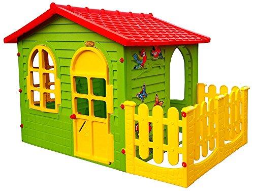 Mochtoys 5907442104981 Big Haus für Kinder mit Garten Spielhaus