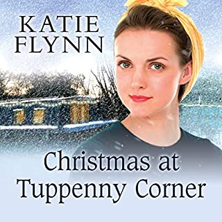 Christmas at Tuppenny Corner audiobook cover art